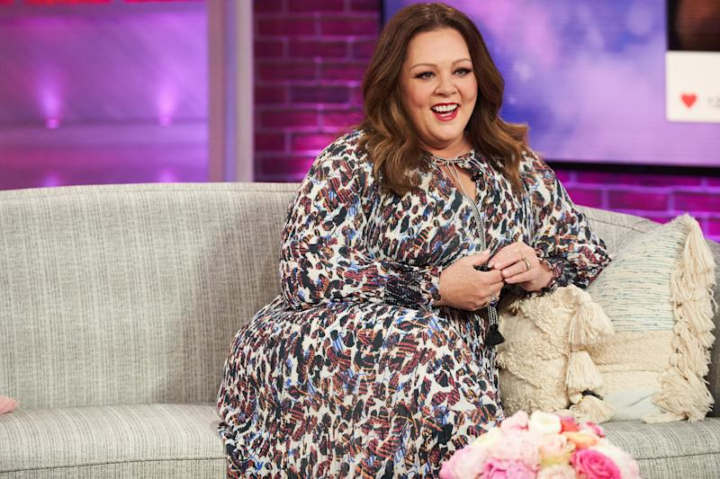 THE KELLY CLARKSON SHOW -- Episode 3111 -- Pictured: Melissa McCarthy -- (Photo by: Adam Christopher/NBCUniversal/NBCU Photo Bank via Getty Images)