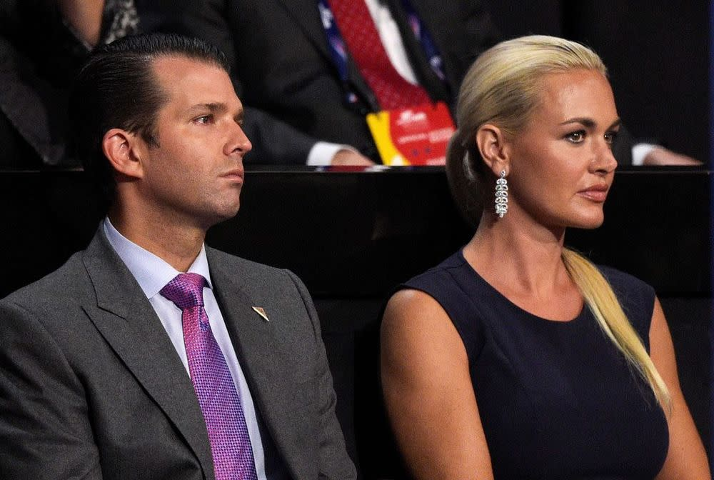 Vanessa and Donald Trump Jr.