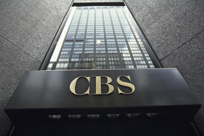 """The CBS Building, headquarters to CBS, was built in 1964 and designed by the architect Eero Saarinen who wanted to build """"the simplest skyscraper in New York. (Photo by James Leynse/Corbis via Getty Images)"""