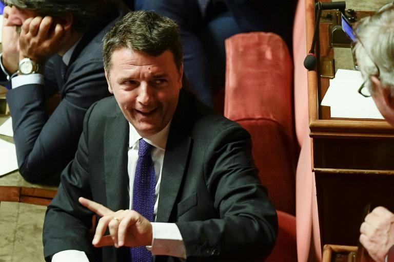 Matteo Renzi has been accused of bringing the government down in a failed act of brinkmanship