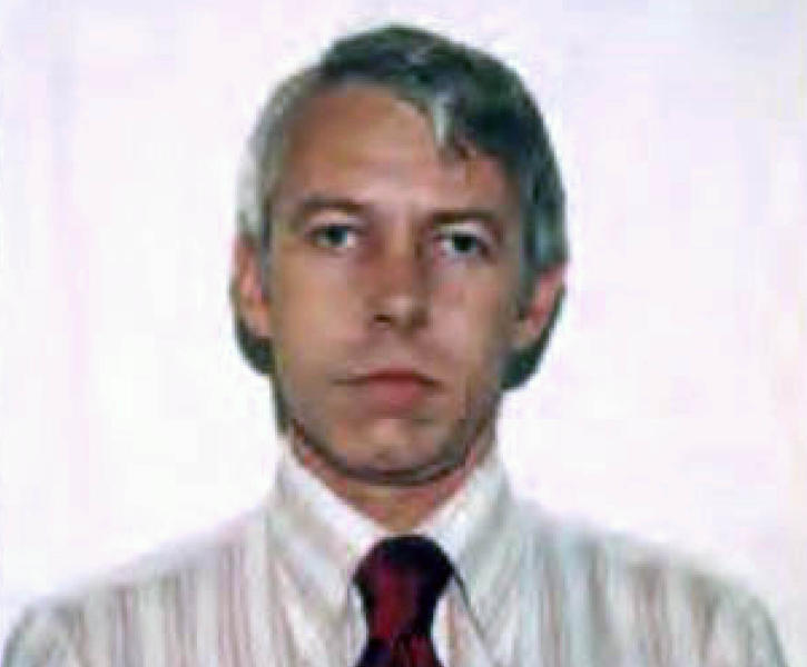 FILE – This undated file photo shows a photo of Dr. Richard Strauss, an Ohio State University team doctor employed by the school from 1978 until his 1998 retirement. Lawyers for men suing Ohio State University over decades-old alleged sexual misconduct by a team doctor say the growing number of accusers has topped 300. (Ohio State University via AP, File)