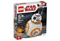 """<p>""""Own your very own Lego BB-8! Turn the wheel to spin the head and turn another to open the hatch and see the welding torch pop out, just like it did in the movie! You can also sit BB-8 on the stand so you can show your friendly droid to all your friends when they come to visit!"""" $99.99 (Photo: Lego) </p>"""