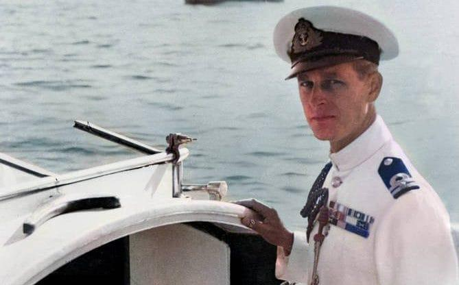 The Duke gave up his naval career to instead support the Queen