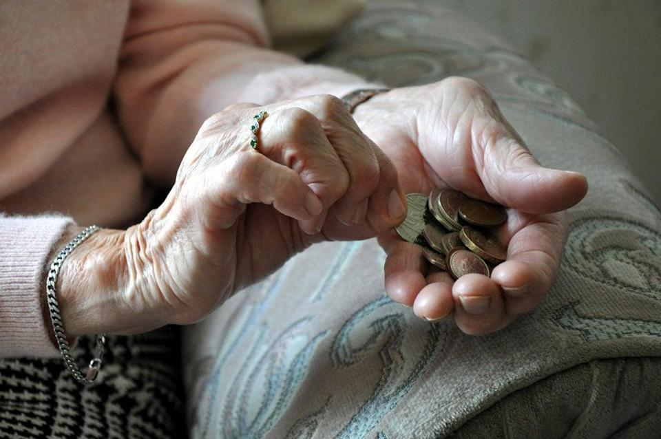 The state pension triple lock is unsustainable in its current form, Treasury Committee chairman Mel Stride has said (Kirsty O'Connor/PA) (PA Archive)
