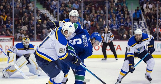Blues at Canucks game preview: Whale of a time