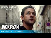 """<p>No more Jim Halpert. John Krasinski plays a CIA analyst who is suddenly thrown into a dangerous game of government cat and mouse. Say goodbye to that boring desk job at the paper company.</p><p><a class=""""link rapid-noclick-resp"""" href=""""https://watch.amazon.com/detail?asin=B07ZCQ3Y3X&tag=syn-yahoo-20&ascsubtag=%5Bartid%7C10054.g.29251120%5Bsrc%7Cyahoo-us"""" rel=""""nofollow noopener"""" target=""""_blank"""" data-ylk=""""slk:Watch Now"""">Watch Now</a></p><p><a href=""""https://www.youtube.com/watch?v=1KsyZF590NM"""" rel=""""nofollow noopener"""" target=""""_blank"""" data-ylk=""""slk:See the original post on Youtube"""" class=""""link rapid-noclick-resp"""">See the original post on Youtube</a></p>"""