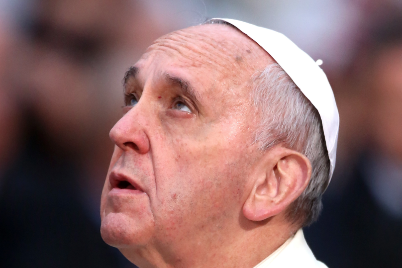 Pope Francis Named Time Magazine Person of the Year