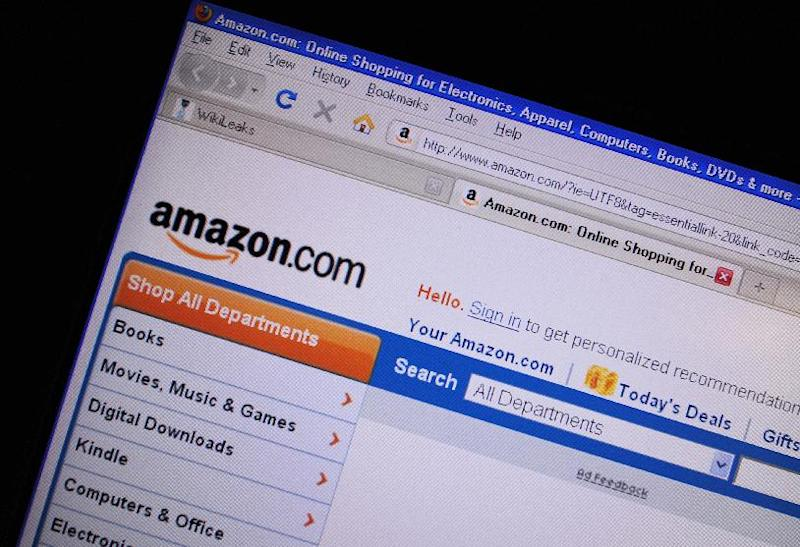 US online retail giant Amazon bolsters its Internet video presence, whistling past Google to snatch up Twitch and its huge audience for live-streamed gaming (AFP Photo/Karen Bleier)