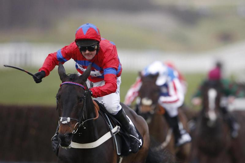 Sprinter Sacre wins the Queen Mother Chamions Chase in 2016