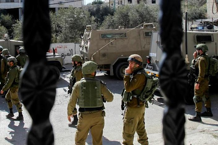 Israel has deployed additional forces in the West Bank and in Jerusalem after an uptick in violence (AFP Photo/Musa AL SHAER)