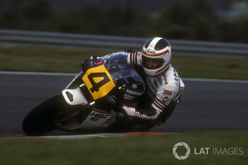 "1985 - Freddie Spencer, Honda<span class=""copyright"">Gold and Goose / Motorsport Images</span>"