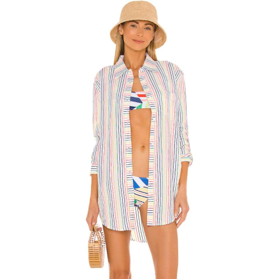 Solid-Striped-Oxford-Tunic-Swimsuit-Cover-Ups-Products