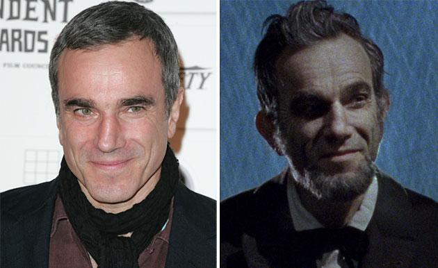 "Daniel Day-Lewis as Abraham Lincoln in ""Lincoln"""