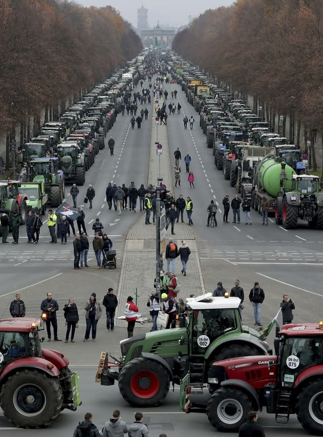 Germany Farmers Protest