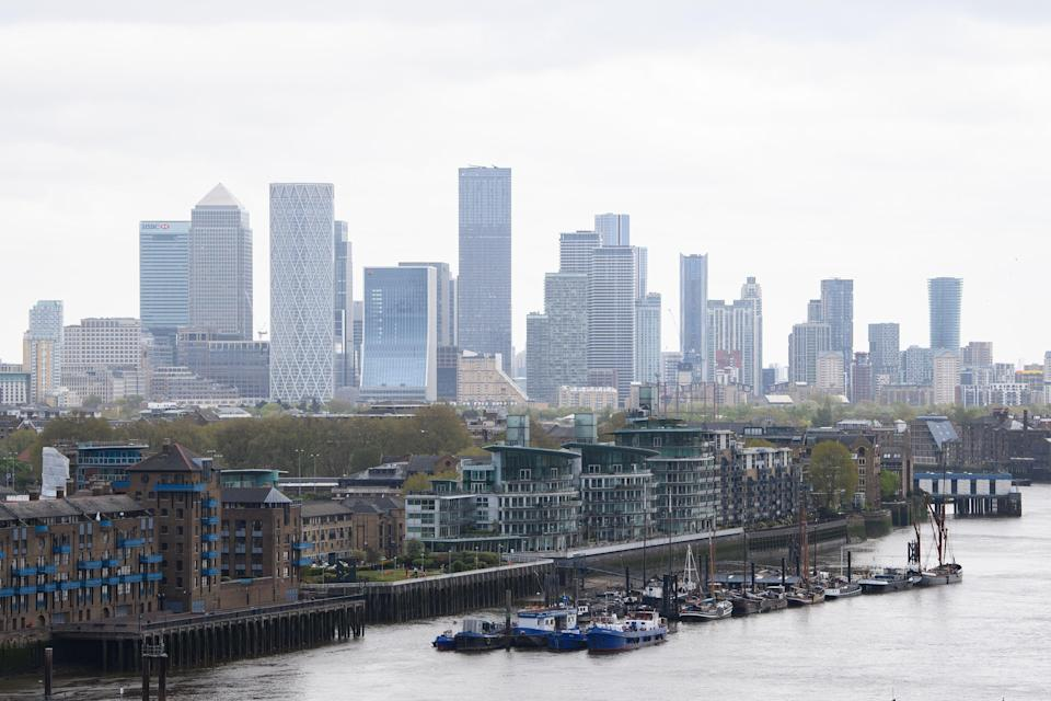 <p>The offices of Canary Wharf</p> (Getty Images)