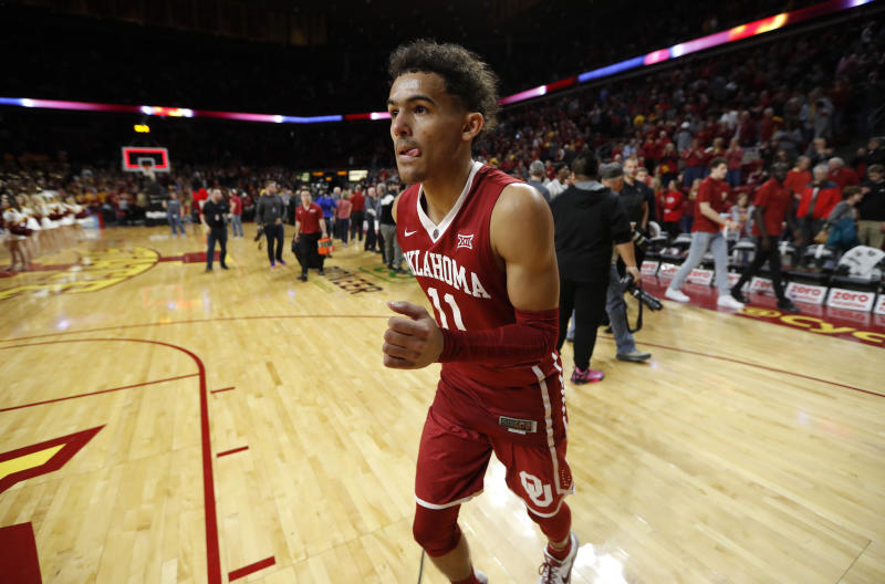best service f2e53 33b8f Does Trae Young still deserve player of the year if Oklahoma ...