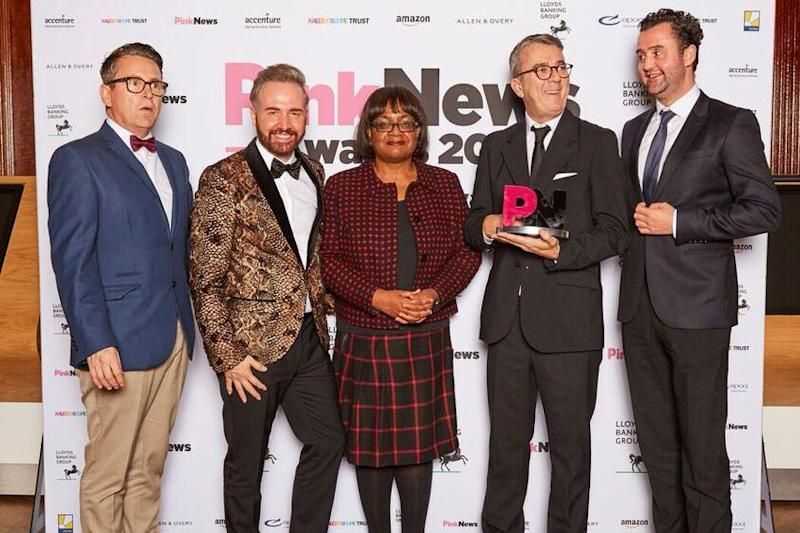 In The Pink: Last night's PinkNews Awards