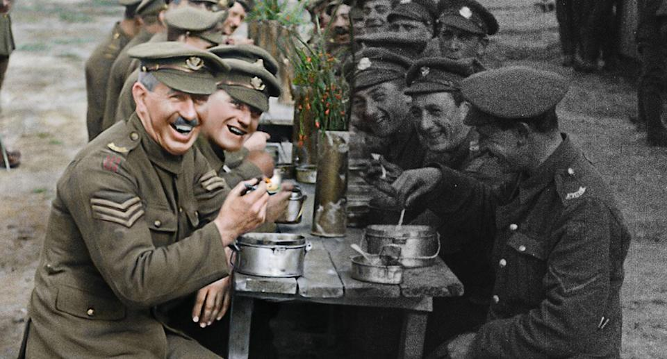 <i>They Shall Not Grow Old</i> brings the Great War to life like never before. (Trafalgar Releasing)