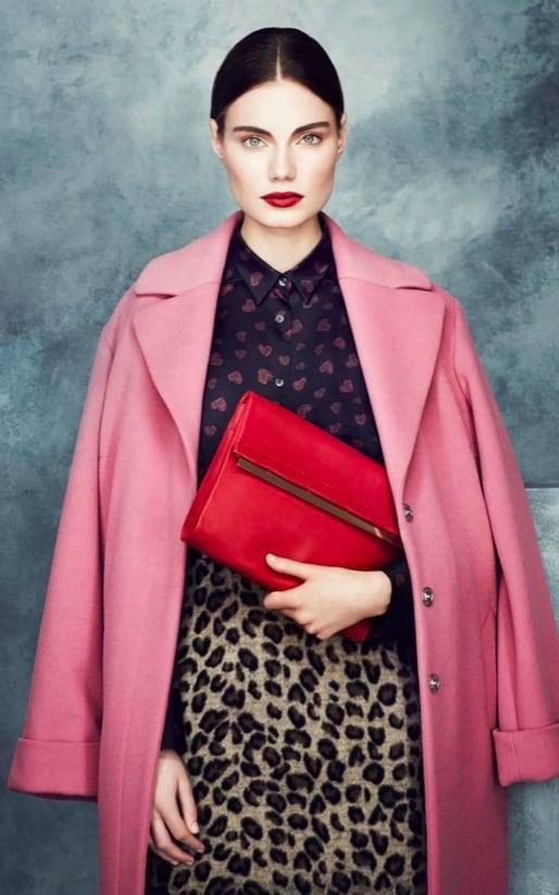 M&S's pink coat was a bestseller in 2013