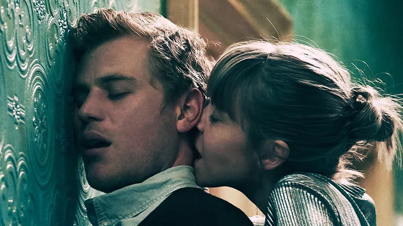 Johnny Flynn and Antonia Campbell-Hughes in 'Cordelia'. (Credit: StudioPOW/Twickenham Studios)