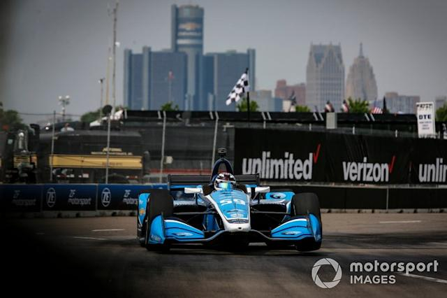 "Max Chilton, Carlin Chevrolet <span class=""copyright"">Phillip Abbott / LAT Photo USA</span>"