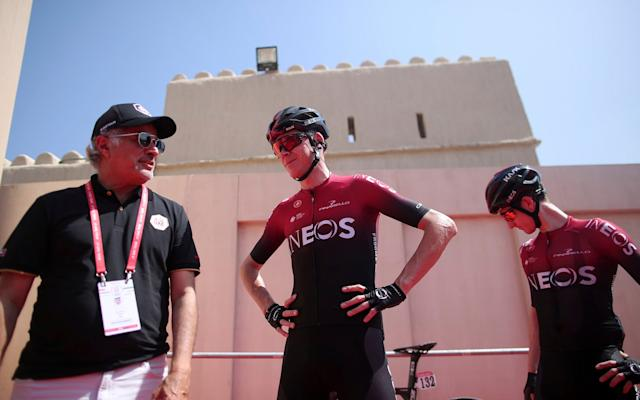 Chris Froome - - AP