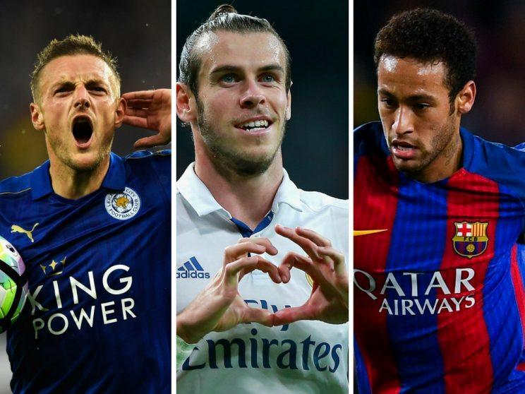 Will Jamie Vardy, Gareth Bale and Neymar make your Daily Fantasy Champions League side this week?