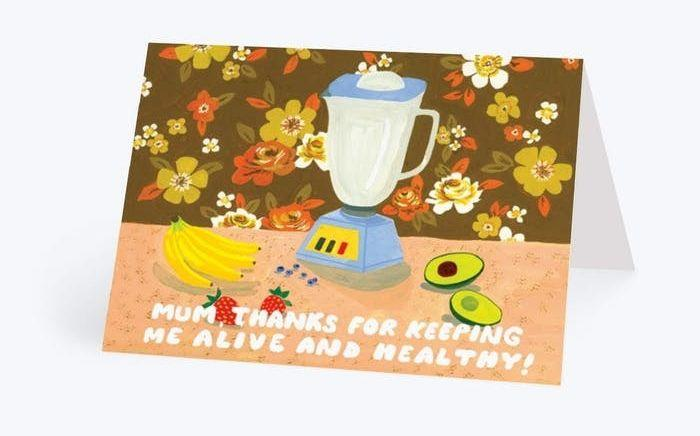 Keeping Me Alive and Healthy Mother's Day Card, Papier (Photo: Papier)