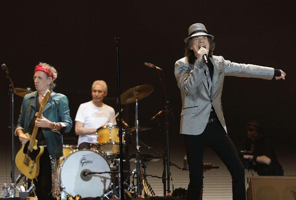 The Stones at the O2 as part of their 50th anniversary series of concerts (Yui Mok/PA) (PA Archive)