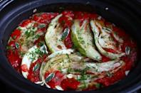 """<div class=""""caption-credit""""> Photo by: Simple Bites</div><div class=""""caption-title"""">Slow-Cooker Cabbage Rolls with Brown Rice and Herbs</div>""""Pale green heads of cabbage, firm to the touch and frugal to the pocketbook, caught my eye at the market,"""" writes Simple Bites, and this lazy cabbage rolls recipe was born. <br> <b><br> Recipe: <a rel=""""nofollow noopener"""" href=""""http://www.simplebites.net/favorite-fall-recipe-slow-cooker-lazy-cabbage-rolls-with-brown-rice-herbs/"""" target=""""_blank"""" data-ylk=""""slk:Slow-Cooker Cabbage Rolls with Brown Rice and Herbs"""" class=""""link rapid-noclick-resp"""">Slow-Cooker Cabbage Rolls with Brown Rice and Herbs</a></b> <br>"""