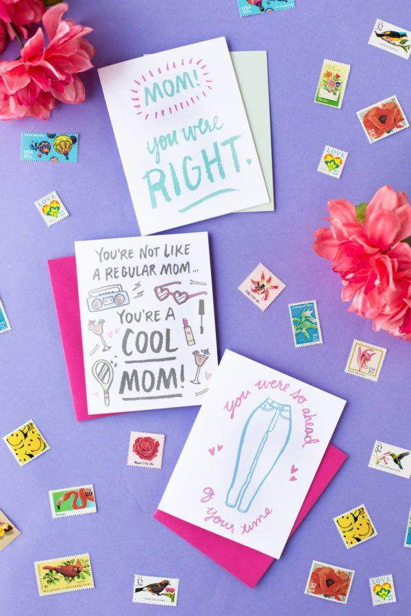 """<p>Finally, admit the secret you'd held in all these years with these playful cards that will make your mom smile.</p><p><strong>Get the printables at <a href=""""https://studiodiy.com/2016/04/27/free-printable-mothers-day-cards/"""" rel=""""nofollow noopener"""" target=""""_blank"""" data-ylk=""""slk:Studio DIY"""" class=""""link rapid-noclick-resp"""">Studio DIY</a>.</strong></p><p><strong><a class=""""link rapid-noclick-resp"""" href=""""https://www.amazon.com/Neenah-Exact-Inches-Sheets-Brightness/dp/B006P1EQXA/?tag=syn-yahoo-20&ascsubtag=%5Bartid%7C10050.g.3195%5Bsrc%7Cyahoo-us"""" rel=""""nofollow noopener"""" target=""""_blank"""" data-ylk=""""slk:SHOP CARDSTOCK"""">SHOP CARDSTOCK</a><br></strong></p>"""