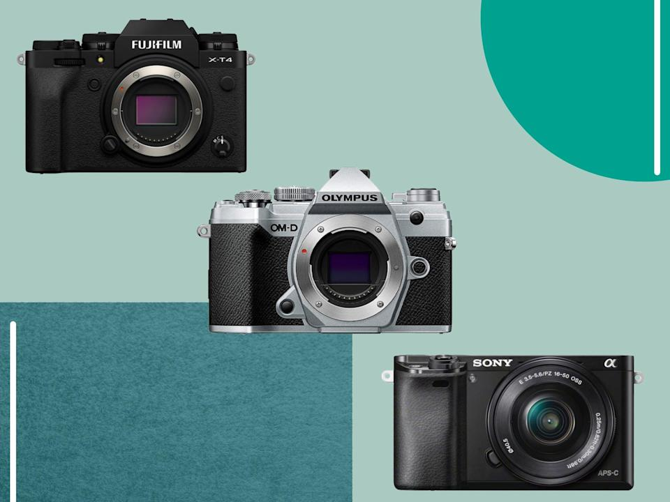 Many top brands such as Canon, Nikon and Sony have made big claims about the mirrorless camera world's future (iStock/The Independent)
