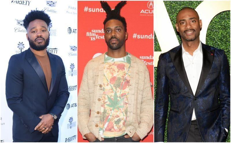 """Ryan Coogler at Variety's Creative Impact Awards and 10 Directors to Watch Brunch during the 30th annual Palm Springs International Film Festival on January 4, 2019; Shaka King attends the """"White Rabbit"""" and """"Lazercism"""" Premieres during the 2018 Sundance Film Festival on January 19, 2018 in Park City, Utah; Charles D. King at the MACRO Pre-Oscar Party 2019 on February 21, 2019 in Los Angeles, California."""