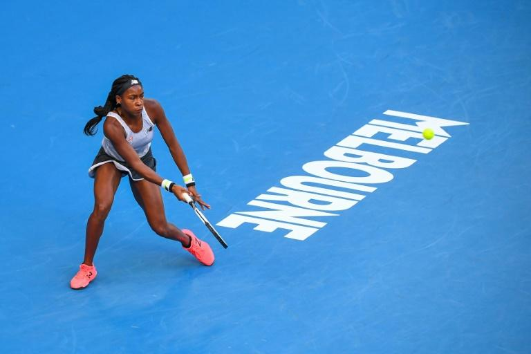 Coco Gauff is making her Australian Open debut and competing in only her third Grand Slam