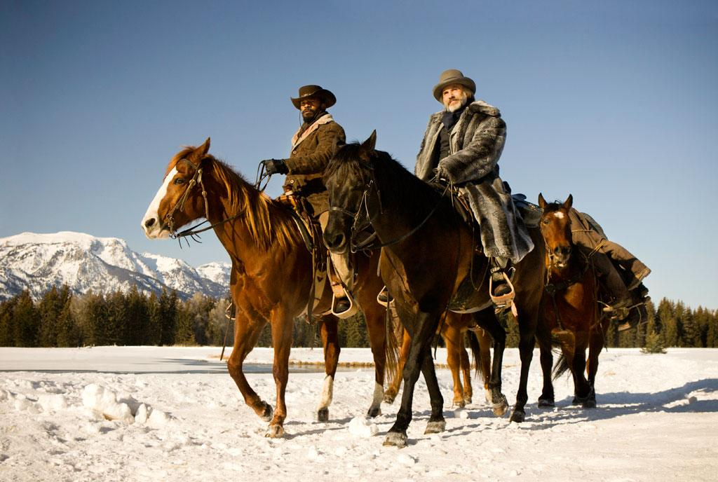 "Jamie Foxx and Christoph Waltz in The Weinstein Company's ""Django Unchained"" - 2012"