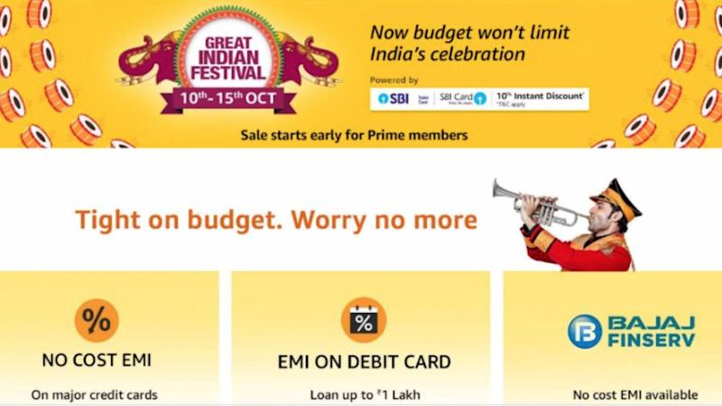 Rivaling Flipkart, Amazon announces Great Indian Festival Sale