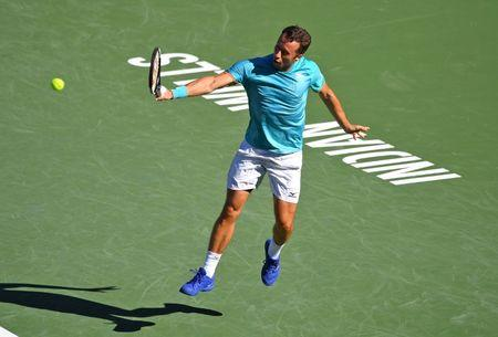 Fed, Nadal, steam into Indian Wells last eight