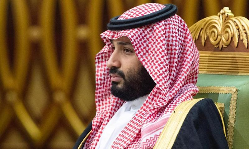 Saudi Arabia's Crown Prince Mohammed bin Salman. The prosperity of the modern-day country has been backed by US security guarantees.