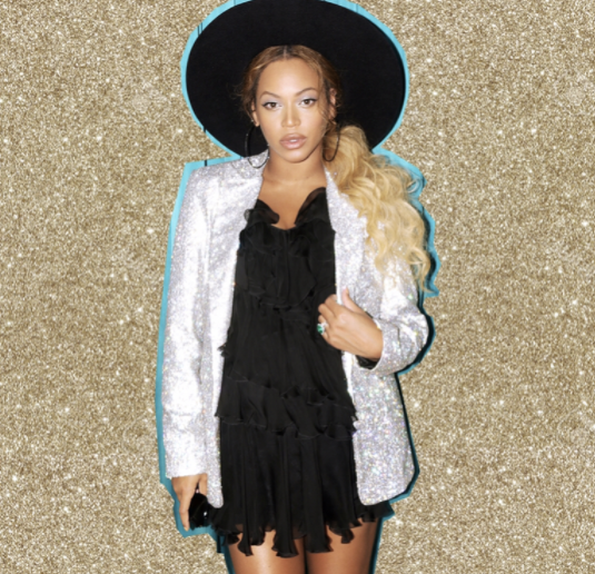 "<p>Same hat, different outfit. Equally cool. (Photo: <a href=""https://www.instagram.com/p/BUkzgS7AP40/?taken-by=beyonce"" rel=""nofollow noopener"" target=""_blank"" data-ylk=""slk:Beyoncé via Instagram"" class=""link rapid-noclick-resp"">Beyoncé via Instagram</a>) </p>"