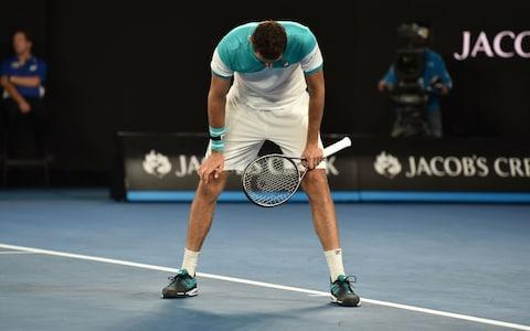 """After being forced to retire from a grand-slam match for only the second time in his illustrious career, Rafael Nadal redoubled his calls last night for the players' health to be better protected. At the time of his withdrawal, Nadal was trailing Marin Cilic 0-2 in the deciding set of their quarter-final. Over the previous half-hour, he had undergone treatment on what appeared to be a groin or upper thigh injury, but it failed to improve his movement discernibly. In fact, he was limping more heavily with each passing game, and eventually had no alternative but to shake hands. Afterwards, Nadal was vague about the exact nature of the problem, saying that he could not be sure until he undergoes scans. But he continued to complain that tennis's authorities are showing insufficient regard for players' bodies. It is a point he has made many times over the years, most recently on the eve of this tournament. """"Somebody who is running the tour should think little bit about what's going on,"""" said Nadal. """"Too many people getting injured. I don't know if they have to think a little bit about the health of the players. Not for now that we are playing, but there is life after tennis. I don't know if we keep playing on these very, very hard surfaces what's going to happen in the future with our lives."""" Nadal had started the match in barnstorming fashion, striking no fewer than 17 clean winners in the opening set. Had he continued at this breakneck pace, he might have made it through in double-quick time, maintaining the possibility of another grand-slam final against Roger Federer. Nadal signs off in Melbourne after suffering with a hip complaint during the fourth set Credit: AFP Instead Nadal's intensity dropped, allowing Cilic – who was serving bombs throughout – to level at one set apiece. And this proved to be crucial, for it was in the fourth set that something tore near the top of his right leg. """"I start to feel the muscle little bit tired in the third [set],"""" said Nadal. """"B"""