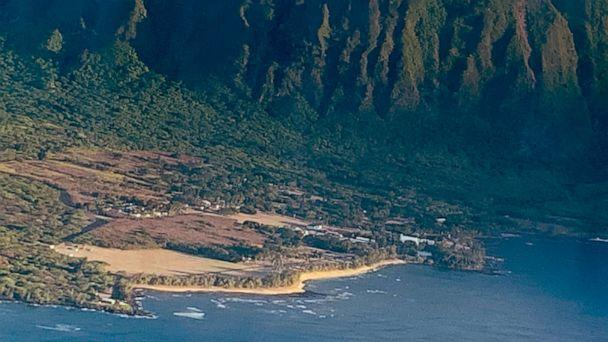 PHOTO: The Kalaupapa settlement is located on a peninsula, surrounded by the Pacific ocean on three sides, with towering 1,600-foot sea cliffs blocking access to the rest of the island. (Courtesy Dr. Glenn Wasserman)