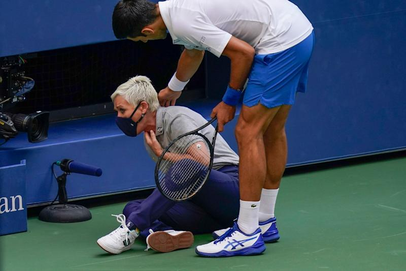 Novak Djokovic Gets Disqualified from US Open: Reactions from Current and Former Players