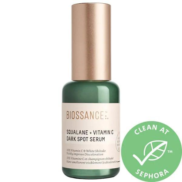 <p>This new <span>Biossance Squalane + 10% Vitamin C Dark Spot Serum</span> ($62) adds a white shiitake mushroom extract to potent vitamin C to target any already-visible hyperpigmentation, and help reduce future occurrences, too.</p>