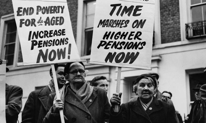 The way we were … in 1957 pensions were still top of the campaigning agenda, but now we face different issues.