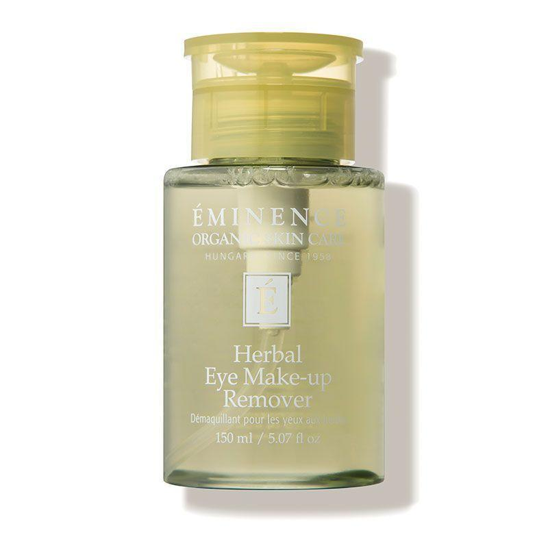 """<p><strong>Eminence Organic Skin Care</strong></p><p>dermstore.com</p><p><strong>$29.00</strong></p><p><a href=""""https://go.redirectingat.com?id=74968X1596630&url=https%3A%2F%2Fwww.dermstore.com%2Fproduct_Herbal%2BEye%2BMakeup%2BRemover_9650.htm&sref=https%3A%2F%2Fwww.marieclaire.com%2Fbeauty%2Fg33863683%2Fbest-makeup-removers%2F"""" rel=""""nofollow noopener"""" target=""""_blank"""" data-ylk=""""slk:SHOP IT"""" class=""""link rapid-noclick-resp"""">SHOP IT</a></p><p>Finding an organic remover that actually works is tricky, but this effective has you covered. Calendula flower cleans and disinfects the eye area, while cucumber and comfrey keep the skin supple and prevent irritation. </p>"""