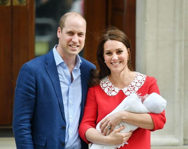 William and Catherine share unseen photos of Louis ahead of first birthday