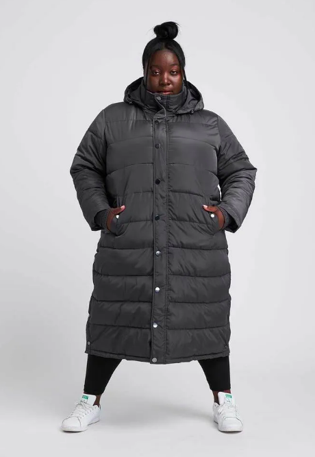 Everest Long Hooded Puffer (Photo via Universal Standard)