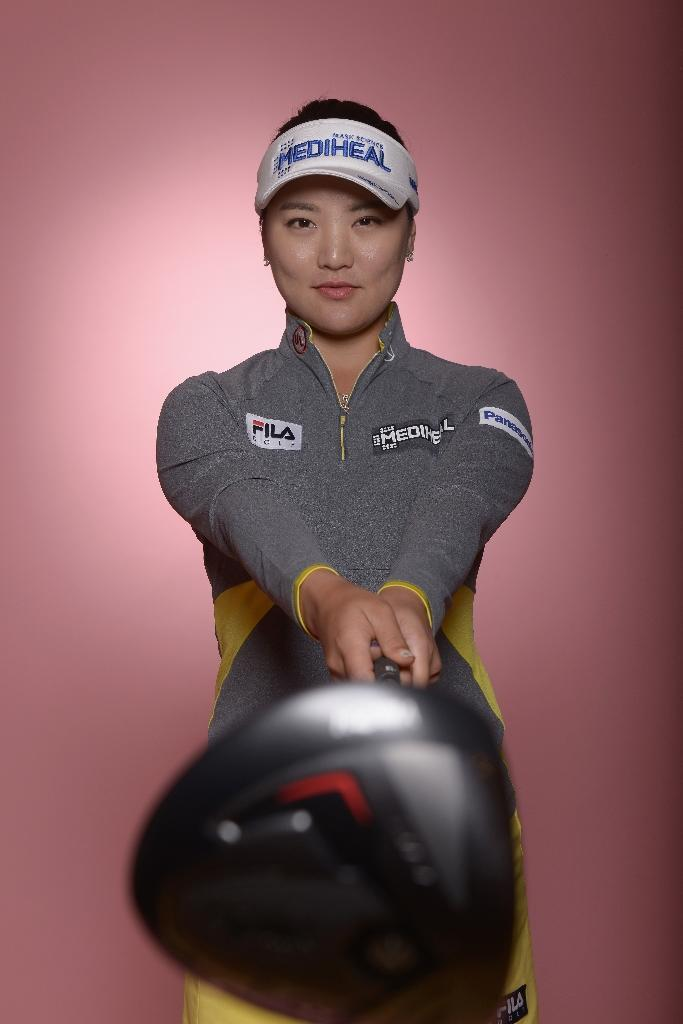 Ryu So-Yeon of South Korea poses for a portrait ahead of the KIA Classic, at the Park Hyatt Aviara Resort in Carlsbad, California, on March 21, 2017 (AFP Photo/Donald Miralle)