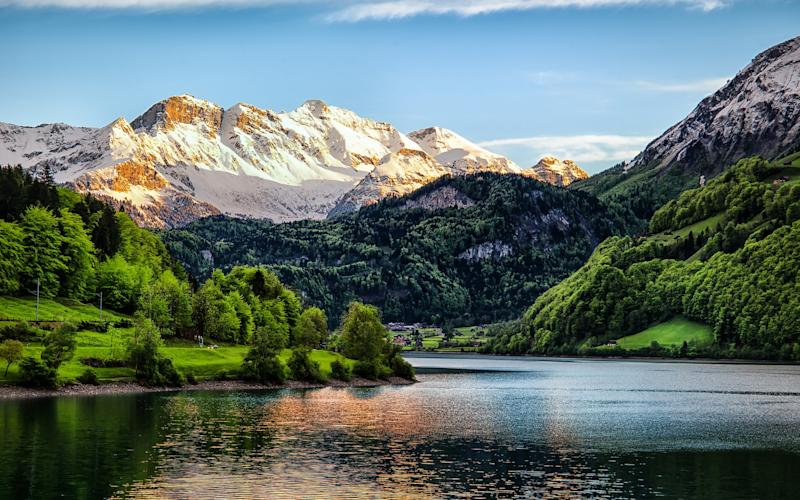 'Switzerland is happiness you can inhale' - Getty