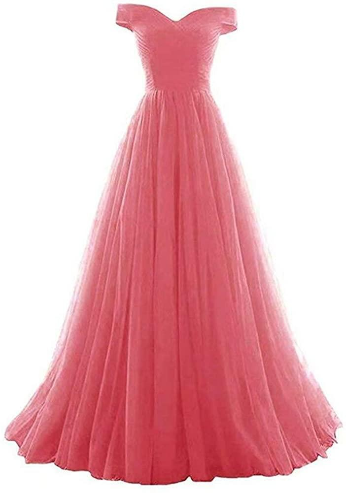 """<br><br><strong>VeraQueen</strong> Off Shoulder Tulle Long Prom Dress, $, available at <a href=""""https://www.amazon.com/VeraQueen-Womens-Strapless-Homecoming-Shoulder/dp/B07RJQJ51X/ref=sr_1_8?dchild=1&keywords=VICKYBEN&qid=1602256453&sr=8-8&th=1"""" rel=""""nofollow noopener"""" target=""""_blank"""" data-ylk=""""slk:Amazon"""" class=""""link rapid-noclick-resp"""">Amazon</a>"""